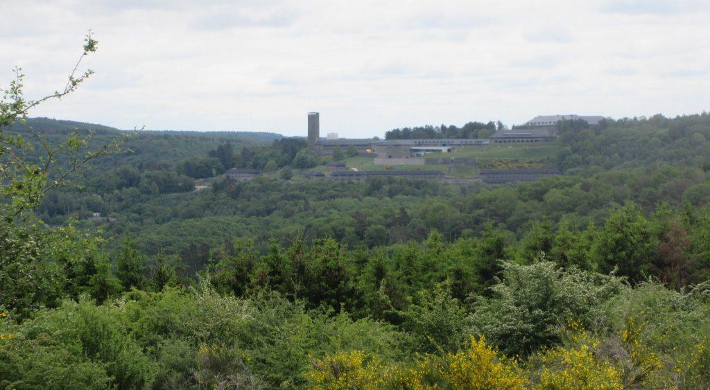 Blick auf Burg Vogelsang