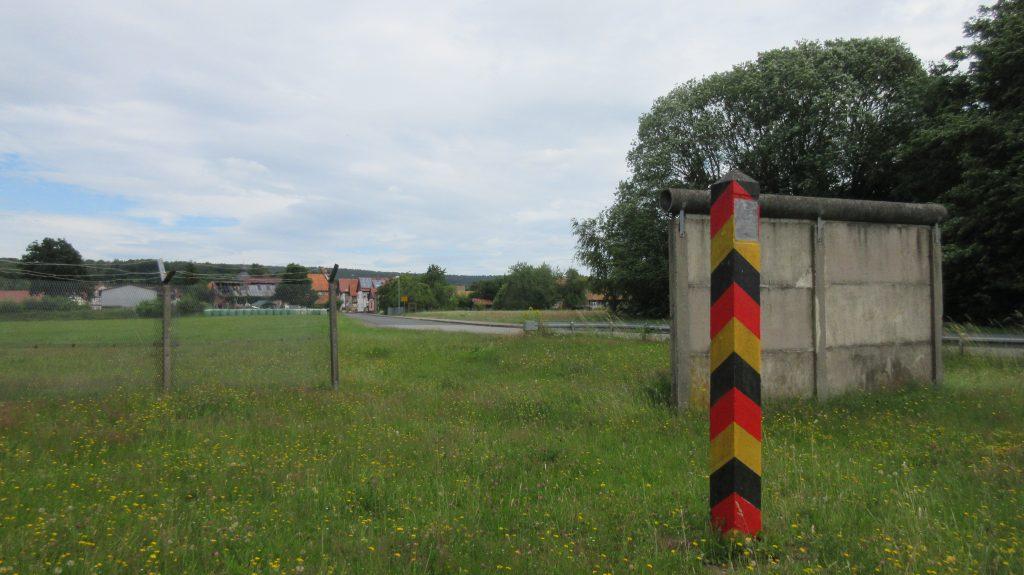 inner deutsche Grenze Großensee/ Kleinensee
