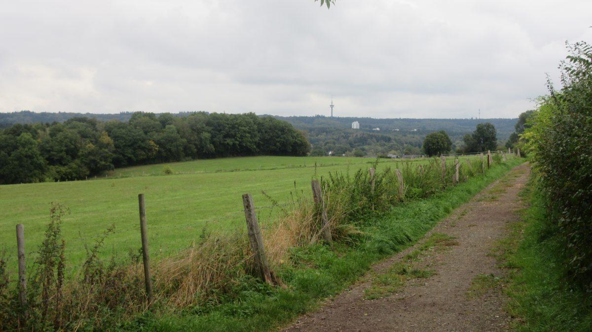 Tag 1 – zu Fuß durch die Ardennen: vom Dreiländereck nach Kelmis