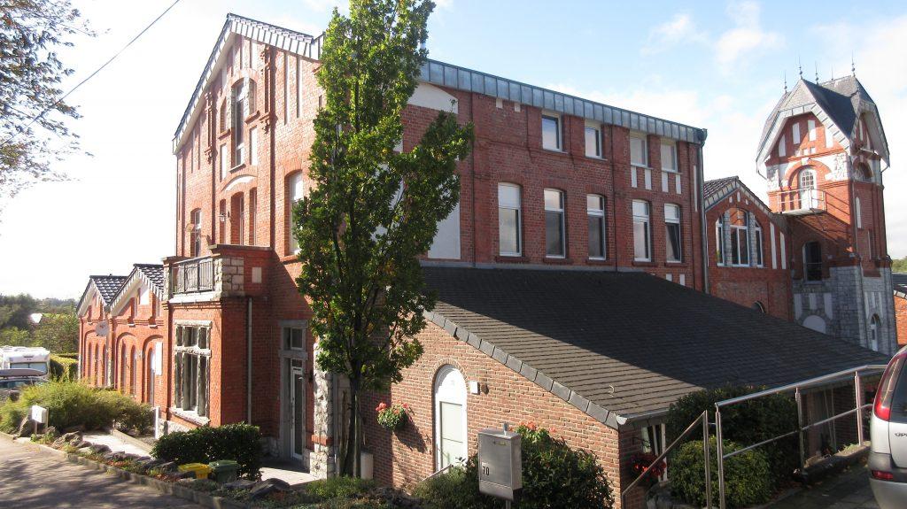 Hauptgebäude der Gießerei in Lontzen