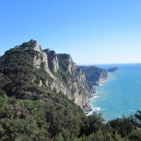 Die Bergkette zwischen Portovenee und Riomaggiore