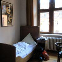 Das Zimmer im Kloster - die alte Mönchszelle...