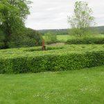 das Labyrinth im Klostegarten