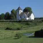 Die romanische Wehrkirche in Berndorf