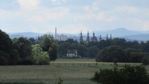 Blick zurück auf Fulda
