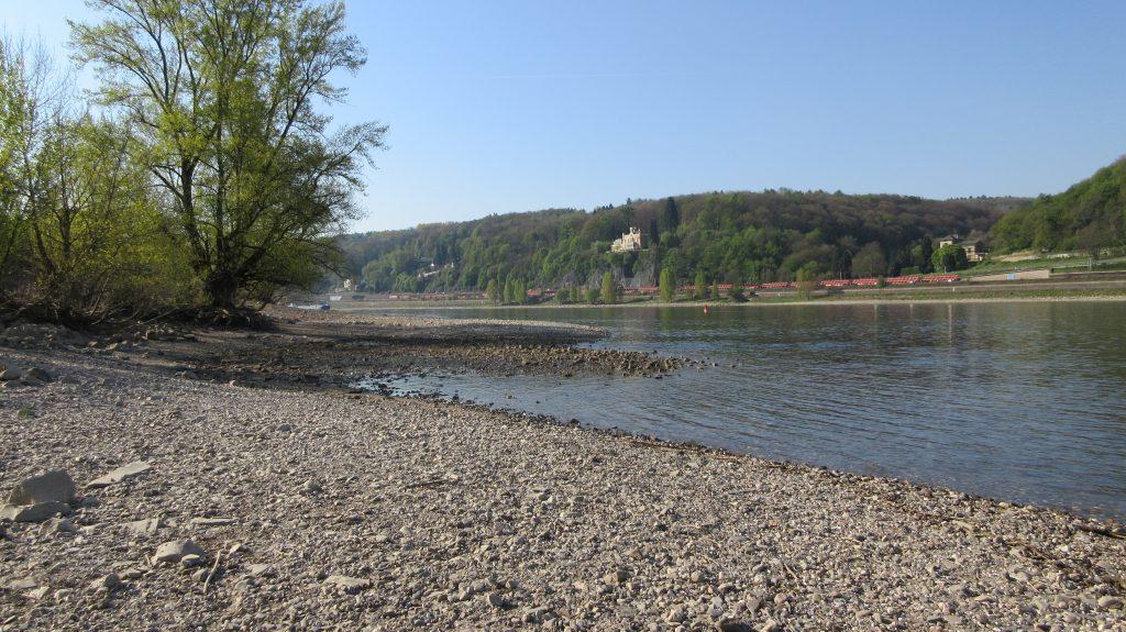 Rheinpromenade bei Unkel