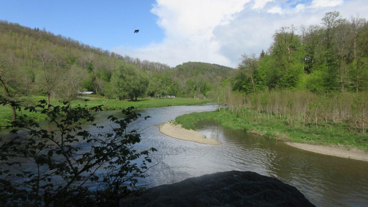 Tag 17 – zu Fuß durch die Ardennen: von Bouillon zum Camping de Maka bei Auby (20 km)