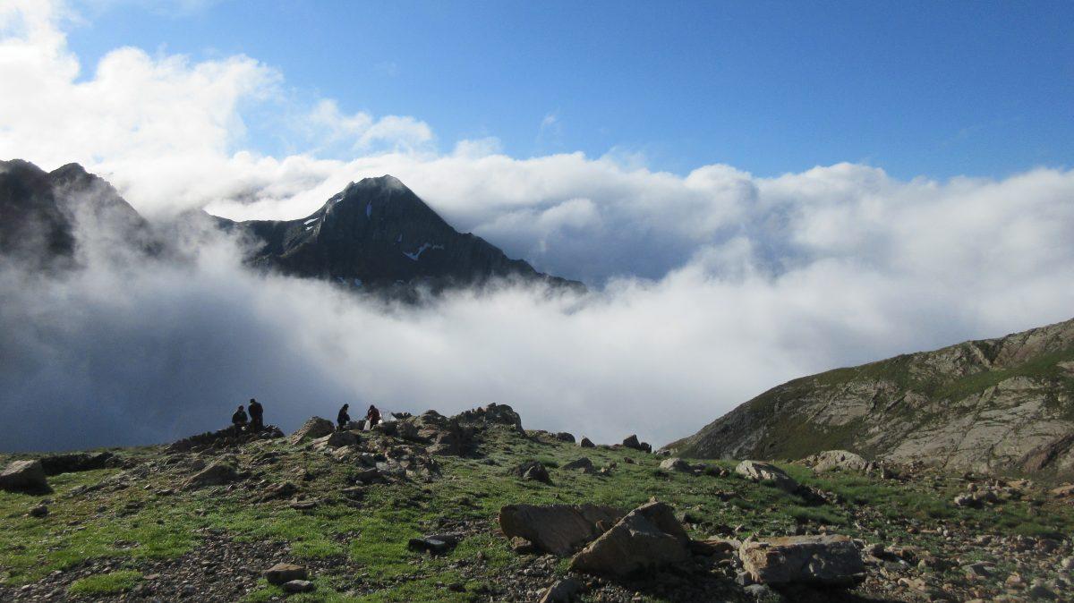 Tag 12 – Rund um den Cirque de Gavarnie im Nationalpark der Pyrenäen: Réfuge der Baysellance – Réfuge d'Estom