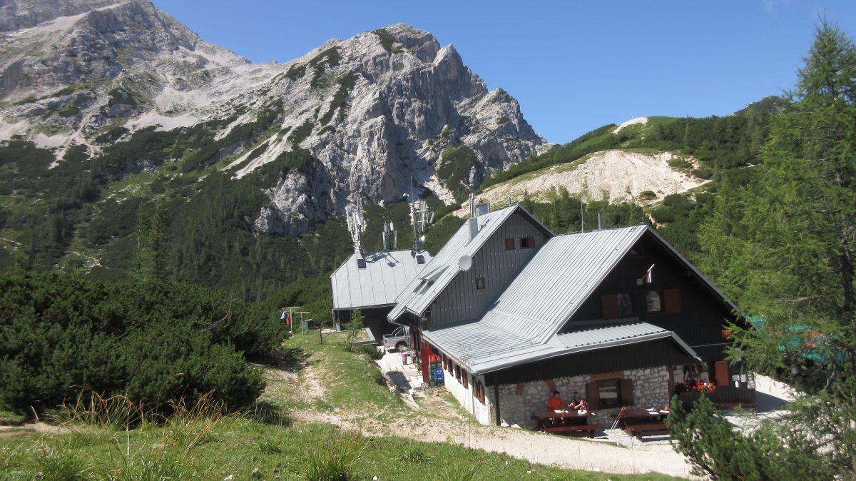 Tag 4  – Auf der Via alpina durch Slowenien, Italien und Österreich: von der Aljažev dom Vratih zur Poštarski dom na Vršiču
