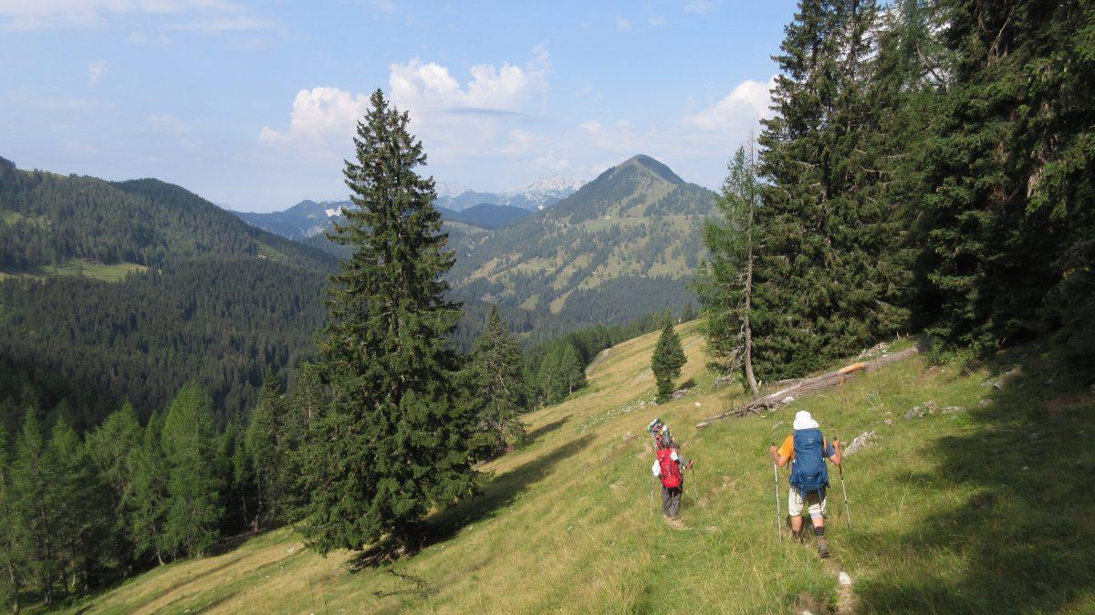Tag 9 – Auf der Via alpina durch Slowenien, Italien und Österreich: vom Rifugio Nordio Deffar nach Hermagor